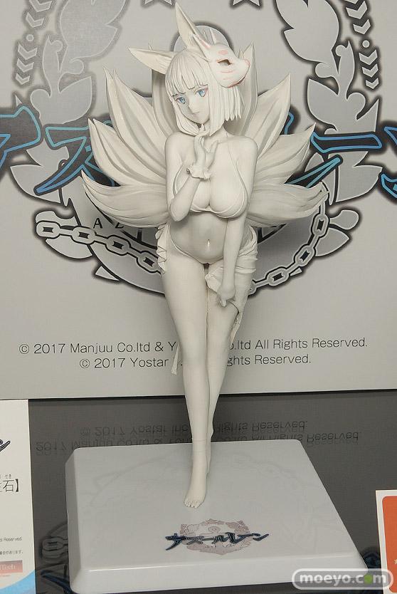 ウェーブの新作フィギュア アズールレーン 加賀【常夏の殺生石】 の製作中原型画像01