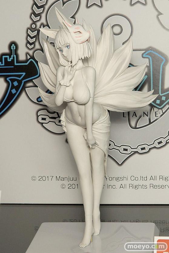 ウェーブの新作フィギュア アズールレーン 加賀【常夏の殺生石】 の製作中原型画像03