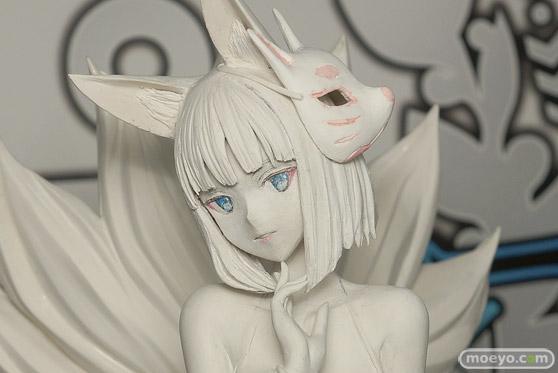 ウェーブの新作フィギュア アズールレーン 加賀【常夏の殺生石】 の製作中原型画像05