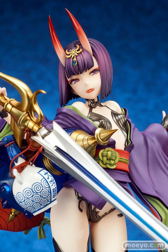 キューズQの新作フィギュア Fate/Grand Order アサシン/酒呑童子 の彩色サンプル画像02