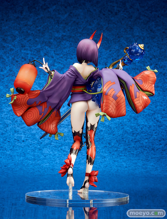 キューズQの新作フィギュア Fate/Grand Order アサシン/酒呑童子 の彩色サンプル画像05