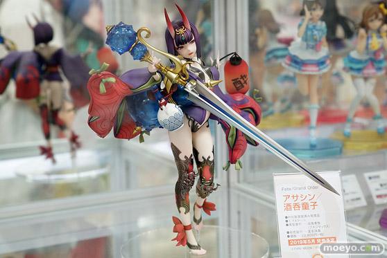キューズQの新作フィギュア Fate/Grand Order アサシン/酒呑童子 の彩色サンプル撮りおろし画像02