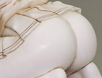 Tonyさんのセクシーイラストをビッグスケールで立体化!BINDing新作アダルトフィギュア「ペットのM嬢 穴山芽衣」無彩色サンプルが展示!【WF2018夏】