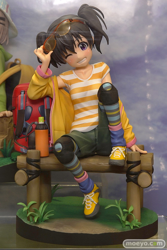 プラムの新作フィギュア ヤマノススメ サードシーズン ひなた あおい の彩色サンプル画像01