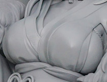 コトブキヤ新作フィギュア「アズールレーン プリンツ・オイゲン(百花繚乱ver.)」監修中原型が展示!【WF2018夏】