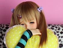 切なげな表情が魅力的な褐色肌のオンナノコ! 「Pink Drops #43 千秋(チアキ)」 期間限定受注開始!