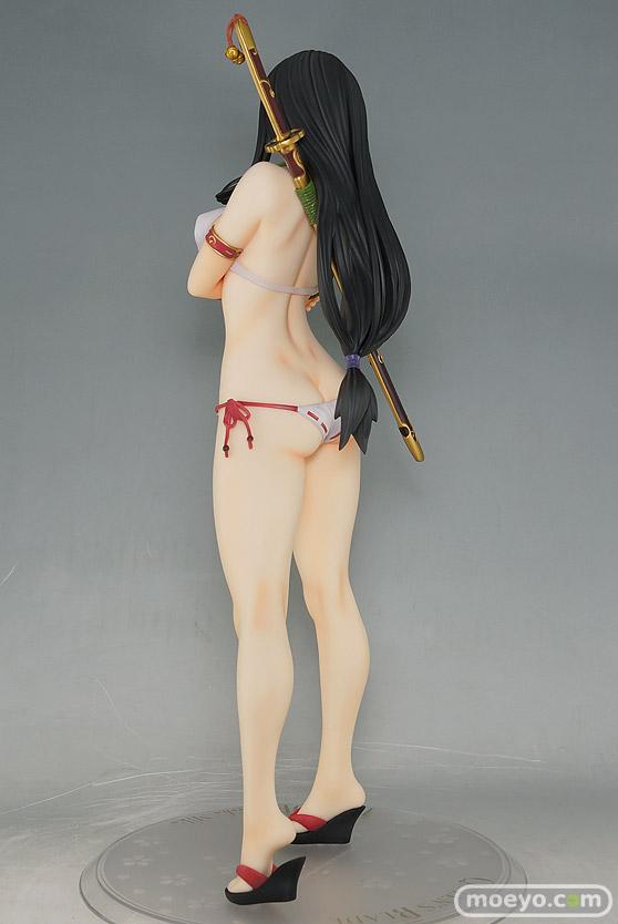 オーキッドシード クイーンズブレイド 美しき闘士たち 武者巫女 トモエ タナカマサノリ フィギュア キャストオフ 06
