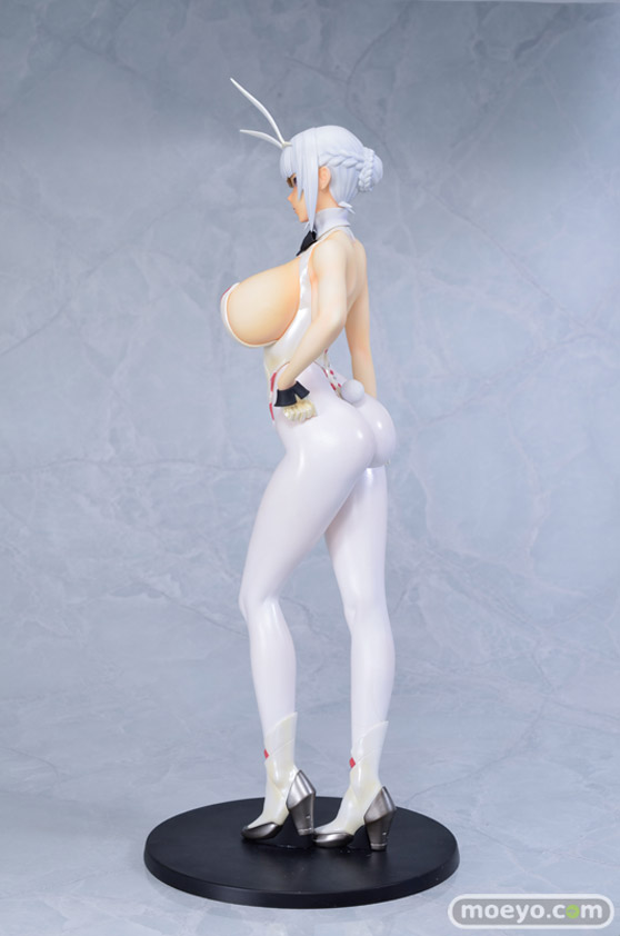Q-six BUNNY GIRL 十六夜エリカ パールver. ばん!オリジナルキャラクター フィギュア エロ キャストオフ ふたなり 03
