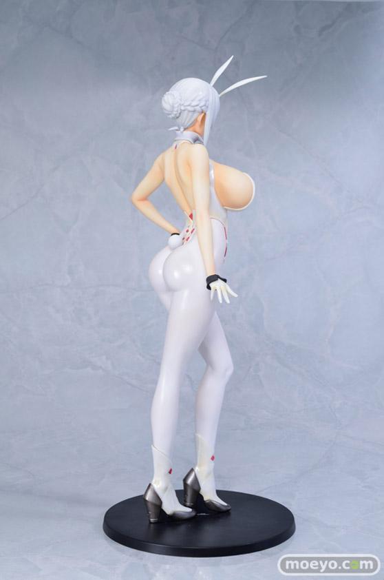 Q-six BUNNY GIRL 十六夜エリカ パールver. ばん!オリジナルキャラクター フィギュア エロ キャストオフ ふたなり 06