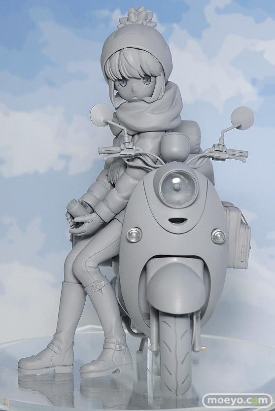 アルター ゆるキャン△ 志摩リン with スクーター(仮) フィギュア たなか☆せんう みうら おさみ 01