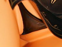 食い込みすぎなエロパンツ見放題!ホビージャパン新作フィギュア「大褐色時代 フィレナ・ワール」彩色サンプルがアキバで展示!