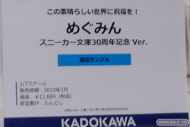 画像 フィギュア サンプル レビュー ワンダーフェスティバル 2019[冬] KADOKAWA 21