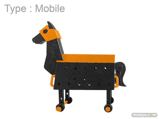 スカイチューブ Love Toys Vol.3 三角木馬 Wooden horse Halloween Ver. プラキット 02