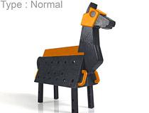 トリック・オア・トリート♪いたずらされるのだーれだ?スカイチューブ新作プラキット「Love Toys Vol.3 三角木馬 Wooden horse Halloween Ver.」予約受付開始!