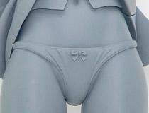恥じらいながらも自らスカートをたくし上げたエロエロポーズ!スカイチューブ新作フィギュア「T2 ART★GIRLS 花園姫香 illustration by Tony」監修中原型が展示!【WF2019冬】