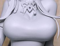 セクシーなドレス姿を立体化!ファット・カンパニー新作フィギュア「ドールズフロントライン Gd DSR-50 ~春牡丹~」監修中原型が展示!【WF2019冬】
