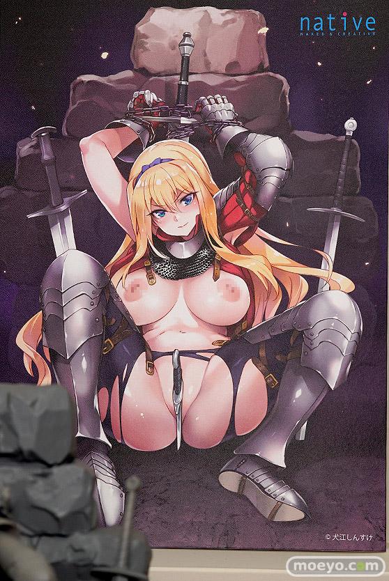 ネイティブ 女騎士ヴァレリー エロ フィギュア 犬江しんすけ 榊馨 12