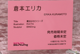 BINDing 魔法少女シリーズ 倉本エリカ RAITA エロ フィギュア 14