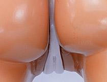 美しい脚のラインがより強調された立ち姿!マウスユニット「Tentacle and Witches 双葉・リリー・ラムセス  美脚見せつけver.」新作美少女フィギュア彩色サンプル画像レビュー