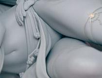 煌びやか&高露出!アルファオメガ新作フィギュア「マクロスF シェリル・ノーム ゴ~~ジャスVer.(仮)」監修中原型が展示!【メガホビ2019春】