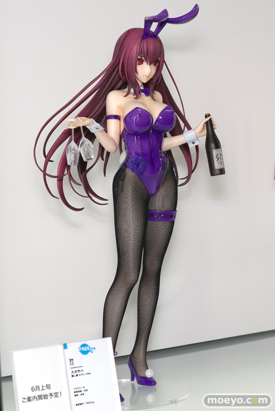 フリーイング B-STYLE Fate/Grand Order スカサハ 刺し穿つバニーVer. フィギュア 02