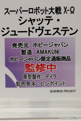 ホビージャパン スーパーロボット大戦 X-Ω シャッテ・ジュードヴェステン フィギュア AMAKUNI デイラ ピンポイント 11