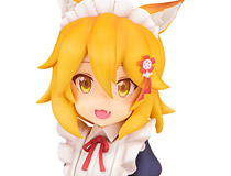 TVアニメ「世話やきキツネの仙狐さん」より「仙狐さん」がメイド服姿で登場!