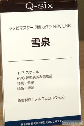 Q-six シノビマスター 閃乱カグラ NEW LINK 雪泉 フィギュア ノルグレコ ランジェリー 16