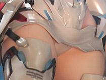 グッドスマイルカンパニー新作美少女フィギュア「ゼノブレイド2 KOS-MOS Re:」彩色サンプルがアキバで展示!