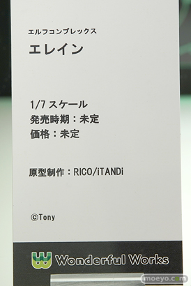Wonderful Works エルフコンプレックス エレイン RICO iTANDi Tony フィギュア ワンダーフェスティバル 2019[夏] 13