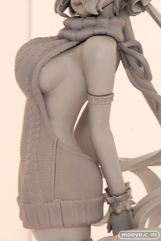 アクアマリン 戦姫絶唱シンフォギアAXZ 雪音クリス 小悪魔セーターstyle デザインココ フィギュア ワンダーフェスティバル 2019[夏] 07