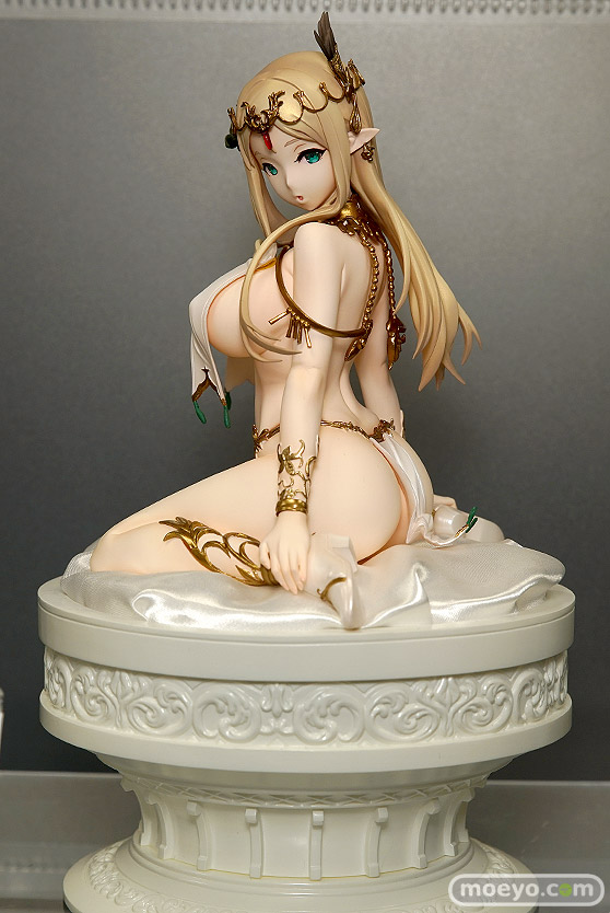 I.V.E Caress of Venus : 方天戟 figure collection -エルフの褥- リリー・レリウム ろいん 星名詠美 エロ フィギュア 01