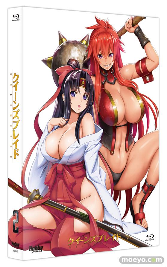 クイーンズブレイドUNLIMITEDアニメ第2巻 01
