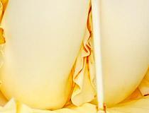 ニーソを履くリラックスした仕草で立体化!キューズQ新作美少女フィギュア「ソードアート・オンライン アスナ」無彩色サンプルが展示! 【WF2019夏】