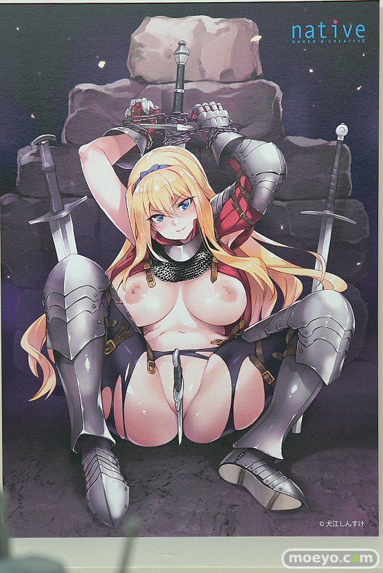 ネイティブ 女騎士ヴェレリー フィギュア 犬江しんすけ 榊馨 エロ キャストオフ 09