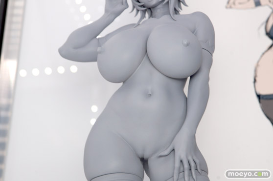 Q-six 秋園栞奈 リリナ エロ フィギュア キャストオフ  ワンダーフェスティバル 2020[冬] 02