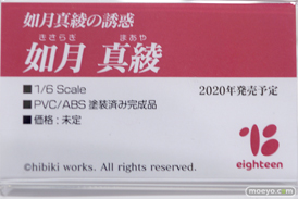 えいてぃ~ん 如月真綾 エロ フィギュア ワンダーフェスティバル 2020[冬] 05