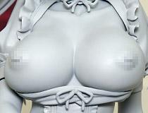 ドジっ子メイドの破廉恥姿!ネイティブ新作エロフィギュア「莉緒」監修中原型が展示!【WF2020冬】