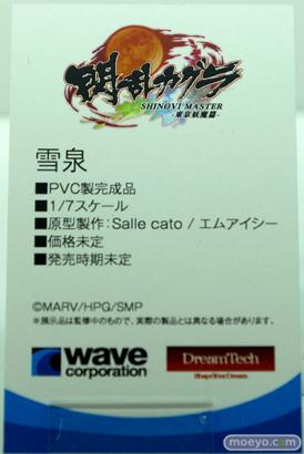 ウェーブ 閃乱カグラ SHINOVI MASTER -東京妖魔篇- 雪泉 フィギュア ワンダーフェスティバル 2020[冬] 10