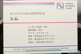 SHIBUYA SCRAMBLE FIGURE Re:ゼロから始める異世界生活 レム デザインココ フィギュア ワンダーフェスティバル 2020[冬] 09