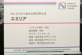 SHIBUYA SCRAMBLE FIGURE Re:ゼロから始める異世界生活 エミリア デザインココ フィギュア ワンダーフェスティバル 2020[冬] 09