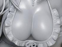 たわわに実る二つの果実!ユニオンクリエイティブ新作美少女フィギュア「TwinBox イラスト 前田栞ちゃん」監修中原型が展示!【2020冬合同展示会】