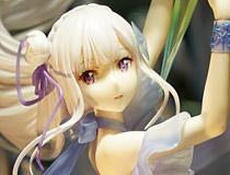 SHIBUYA SCRAMBLE FIGURE新作美少女フィギュア「Re:ゼロから始める異世界生活 エミリア -Crystal Dress Ver-」がアキバで展示!