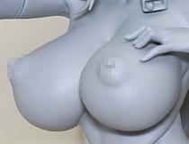 朝凪さんイラストを全裸同様のドスケベコスで立体化!ロケットボーイ新作エロフィギュア「ソフィア」監修中原型が展示!【WF2020冬】