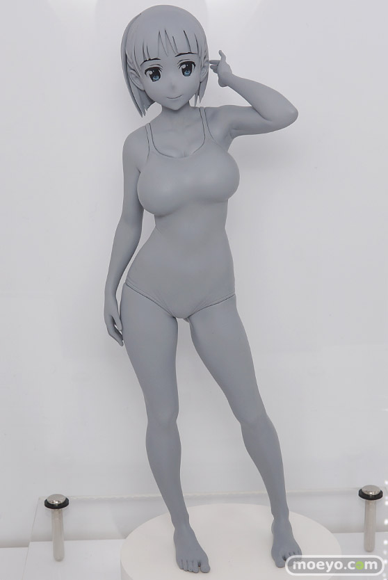 Q-six ソードアート・オンライン 桐ケ谷直葉 ノルグレコ フィギュア ワンダーフェスティバル 2020[冬] 01