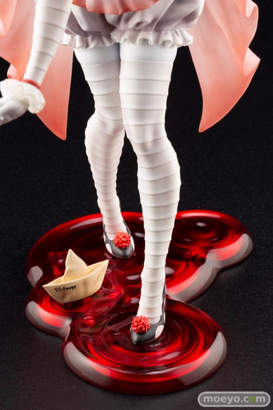 """コトブキヤ HORROR美少女 IT イット """"それ""""が見えたら、終わり。 ペニーワイズ (2017)  藤本圭紀 フィギュア 13"""