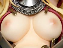 犬江しんすけさんイラストを立体化!ネイティブ新作エロフィギュア「女騎士ヴァレリー」彩色サンプルが展示!【WF2020冬】