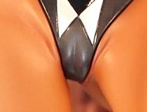 あみあみ×AMAKUNI新作美少女フィギュア「対魔忍ユキカゼ 水城ゆきかぜ」彩色サンプルがアキバで展示!