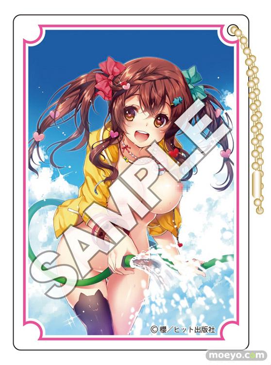 花畑と美少女 Hiten:COMIC阿吽Pin-upアクリルアートコレクションSP 櫻:COMIC阿吽アダルトキーチェーン 04