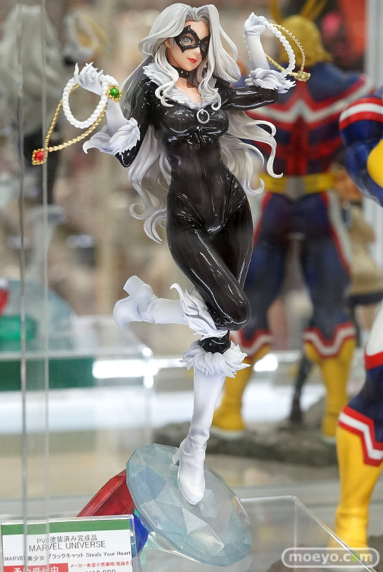 コトブキヤ MARVEL美少女 MARVEL UNIVERSE ブラックキャット Steals Your Heart ke 山下しゅんや フィギュア 02